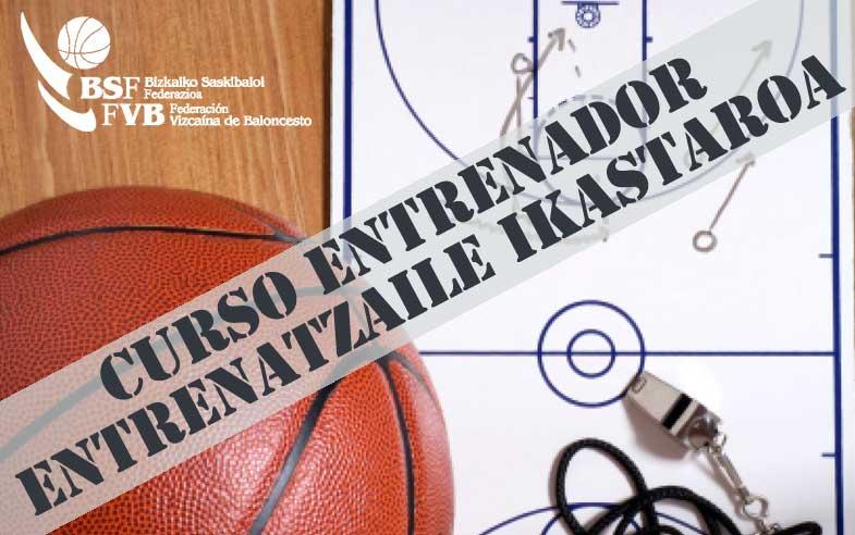 Curso Entrenador - Entrenatzaile Ikastaroa