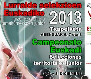 campeonato de euskadi junior cartel