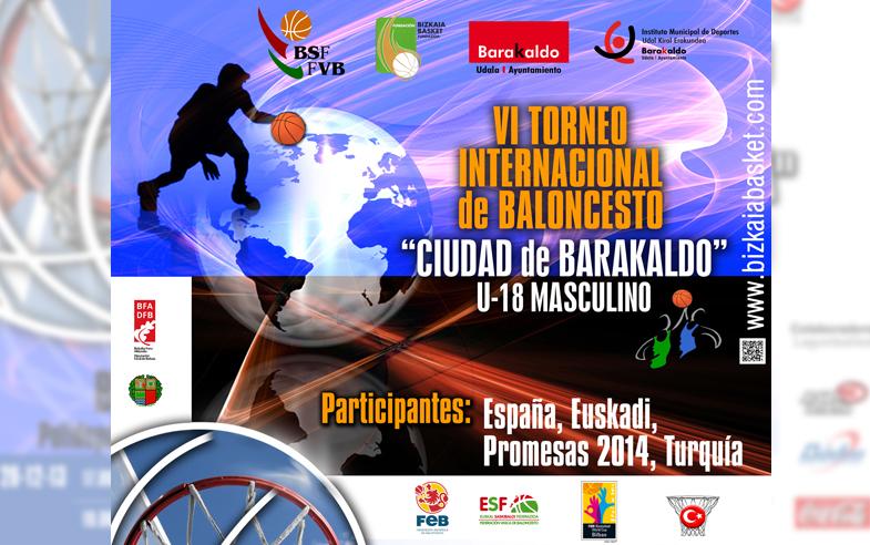 "VI Torneo Internacional de Baloncesto ""Ciudad de Barakaldo"" U18 Masculino"