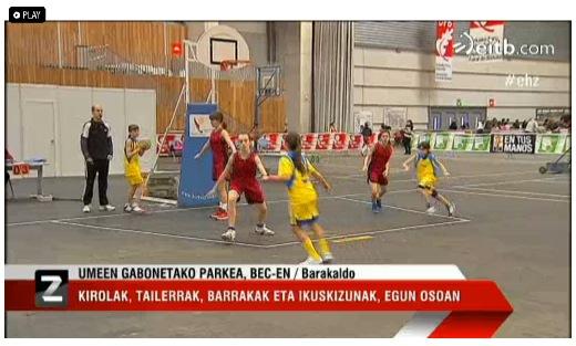Basket en el PIN UGP