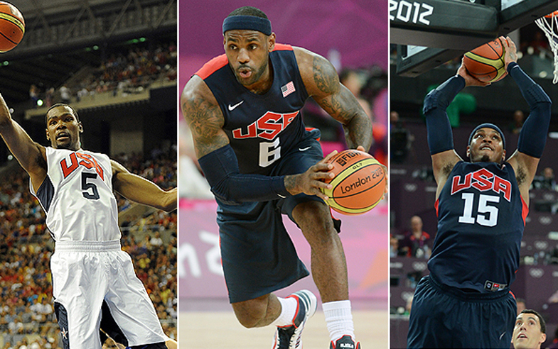 lebron james usa basketball
