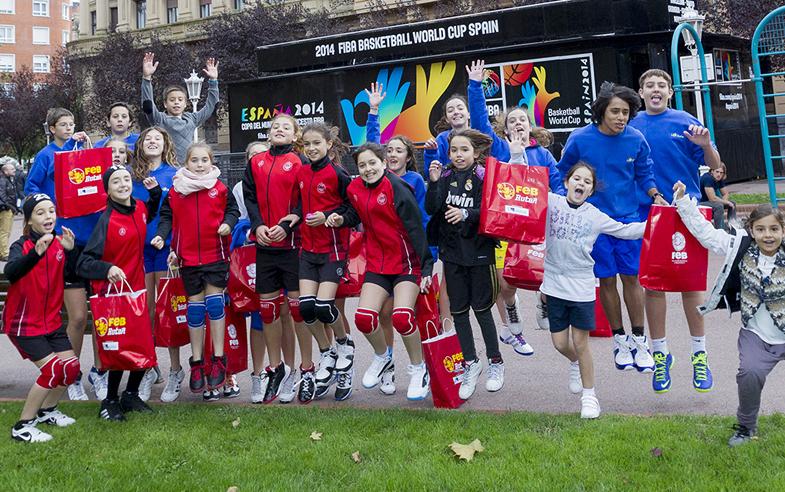 FIBA Road Show World Cup 2014 a Bizkaia