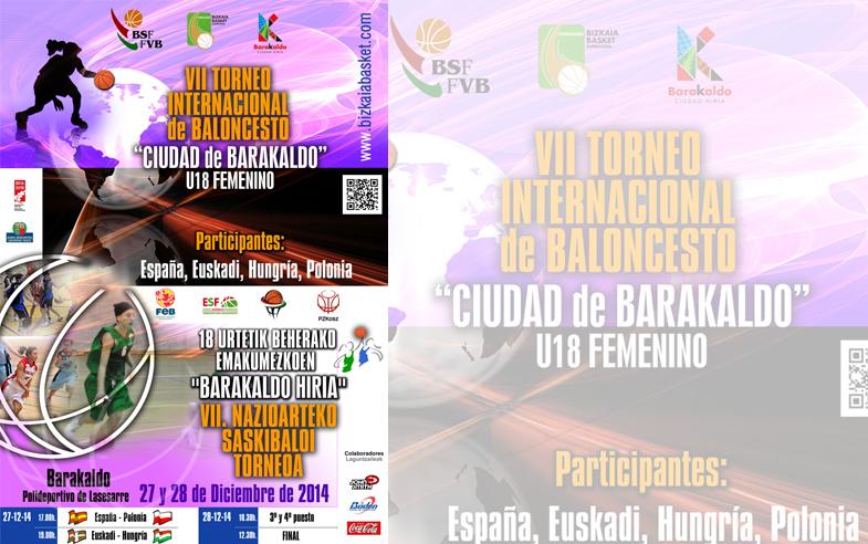 "VII Torneo Internacional de Baloncesto ""Ciudad de Barakaldo"" U18 Femenino"