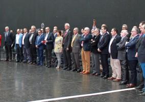 II encuentros, presidentes, autonómicos, frontón bizkaia, recepción