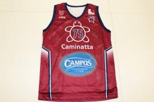 Camiseta Gernika Bizkaia Basket 75 anviersario FViB